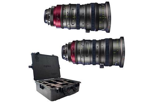 Angenieux EZ-1 EZ-2 15-40mm 30-90mm Cine lens (Super35 and Full-Frame) PL or EF
