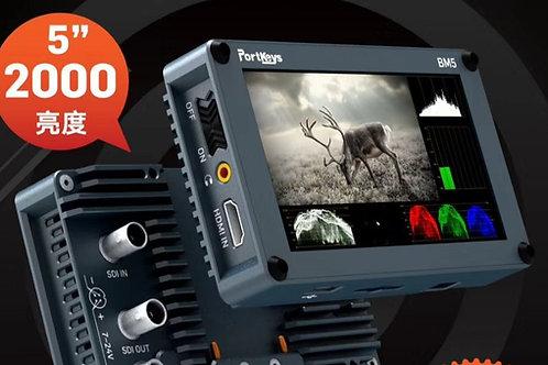 Portkeys BM5 5 inch monitor 2000nit / 高光5寸導演監視器
