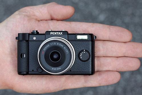 Pentax Q with zoom kit lens/迷你換鏡相機