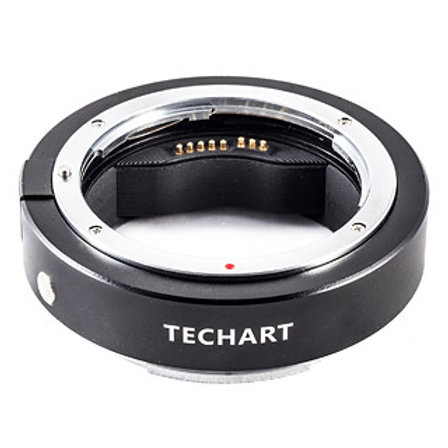 Techart EF lens to Fuji GFX camera AF adaptor