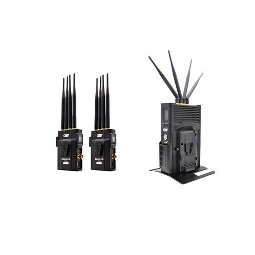 Crystal video 2000feet wireless HDMI SDI transmitter 2000ft / 2000尺2發1收無線圖傳