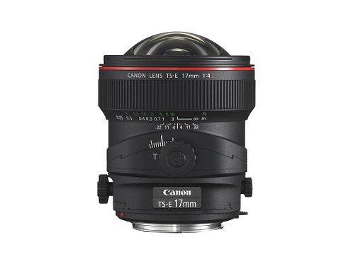 Canon 17mm f4L TS-E tilt shift