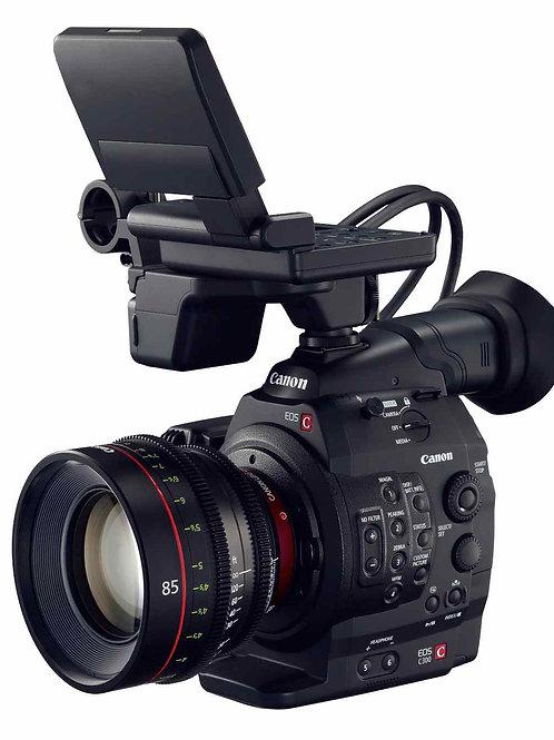 Canon C300 1080p SDI C-Log/廣播級全高清錄卡錄像機