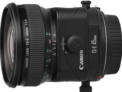 Canon 45mm f2.8 TS-E tilt shift lens