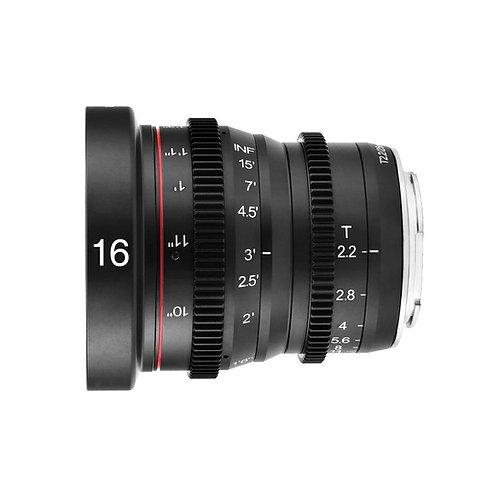 Meike 16mm T2.2 m43 / m43 電影鏡