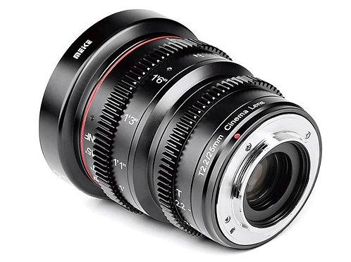 Meike 25mm T2.2 m43 / m43 電影鏡