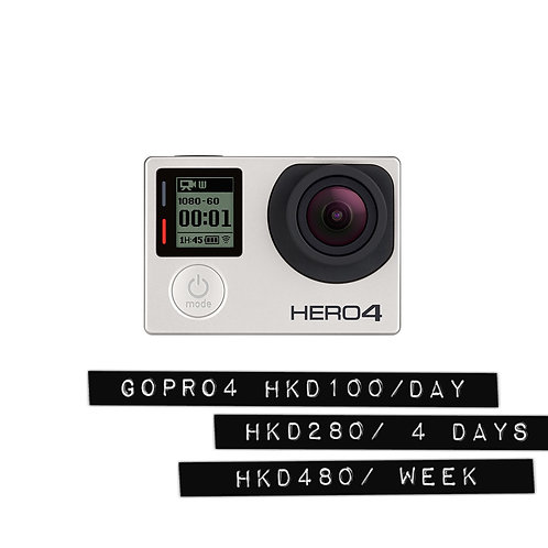 Gopro 4 silver edition/小型HD潛水運動錄像機