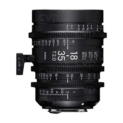 Sigma 18-35mm T2 Cine lens 電影鏡