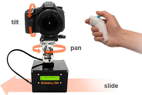 Edelkrone slider + action module combo/3向電動路軌套裝