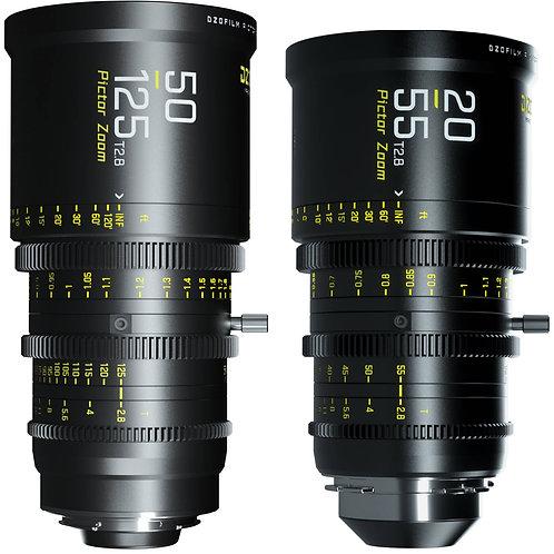 DZOFILM 20-55mm / 50-125mm t2.8 cine lens 電影鏡頭