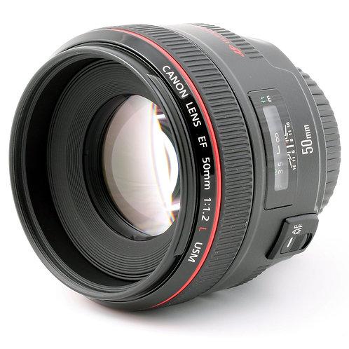 Canon 50 f1.2L /全片幅50mm f1.2L 鏡頭