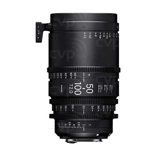 Sigma 50-100mm T2 Cine lens 電影鏡