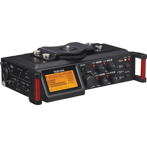 Tascam DR-70D(4-channel)/XLR收音器