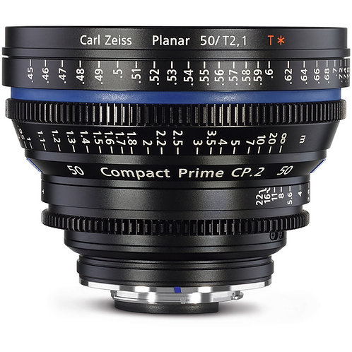 Zeiss CP.2 50mm T2.1 cine lens/ 50mm 電影鏡
