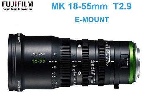 Fujinon MK 18-55mm t2.9 cine lens/電影鏡頭
