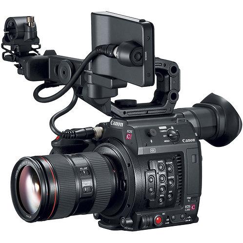 Canon C200 4K DAF/廣播級4K錄卡錄像機
