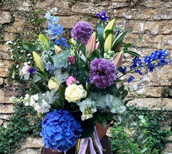 Beautiful birthday bouquets delivered today!