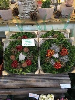 Christmas Turkish Fruit Wreaths