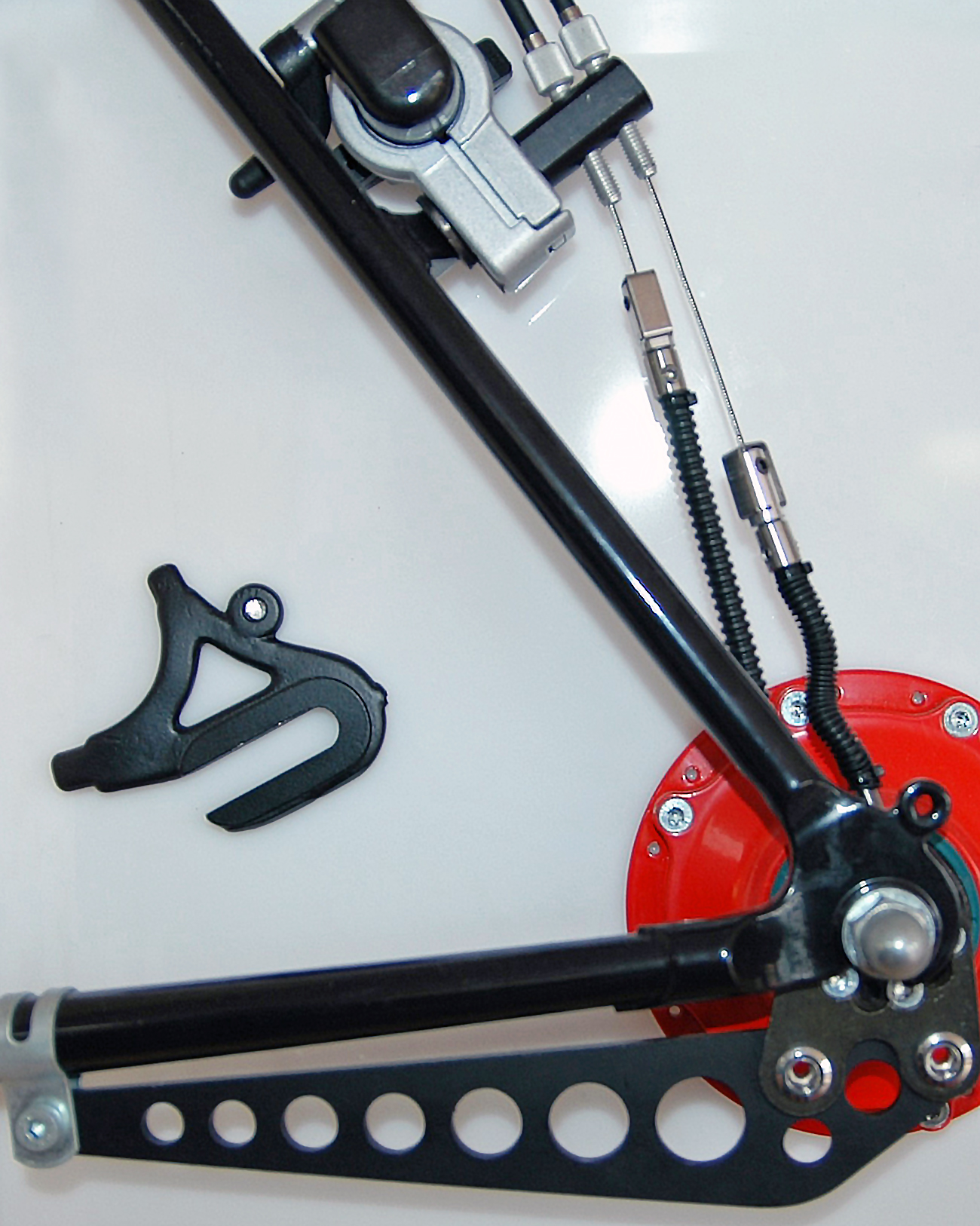 Std Axle Plate with Torque Arm clamp