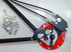 OEM Axle Plate w/external gear mech