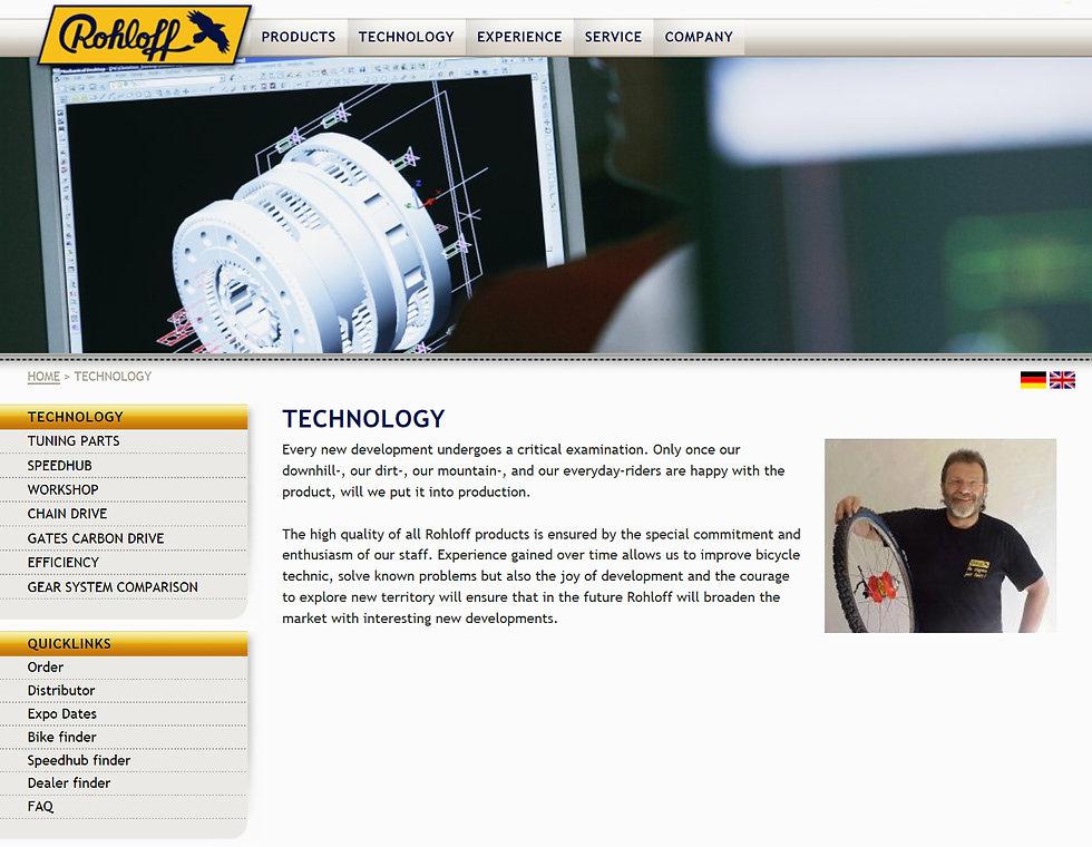 Rohloff Australia Technology Page, Rohloff technology, engineering, Speedhub 500/14 design, gear comparison, gear efficiency, 14-speed gears