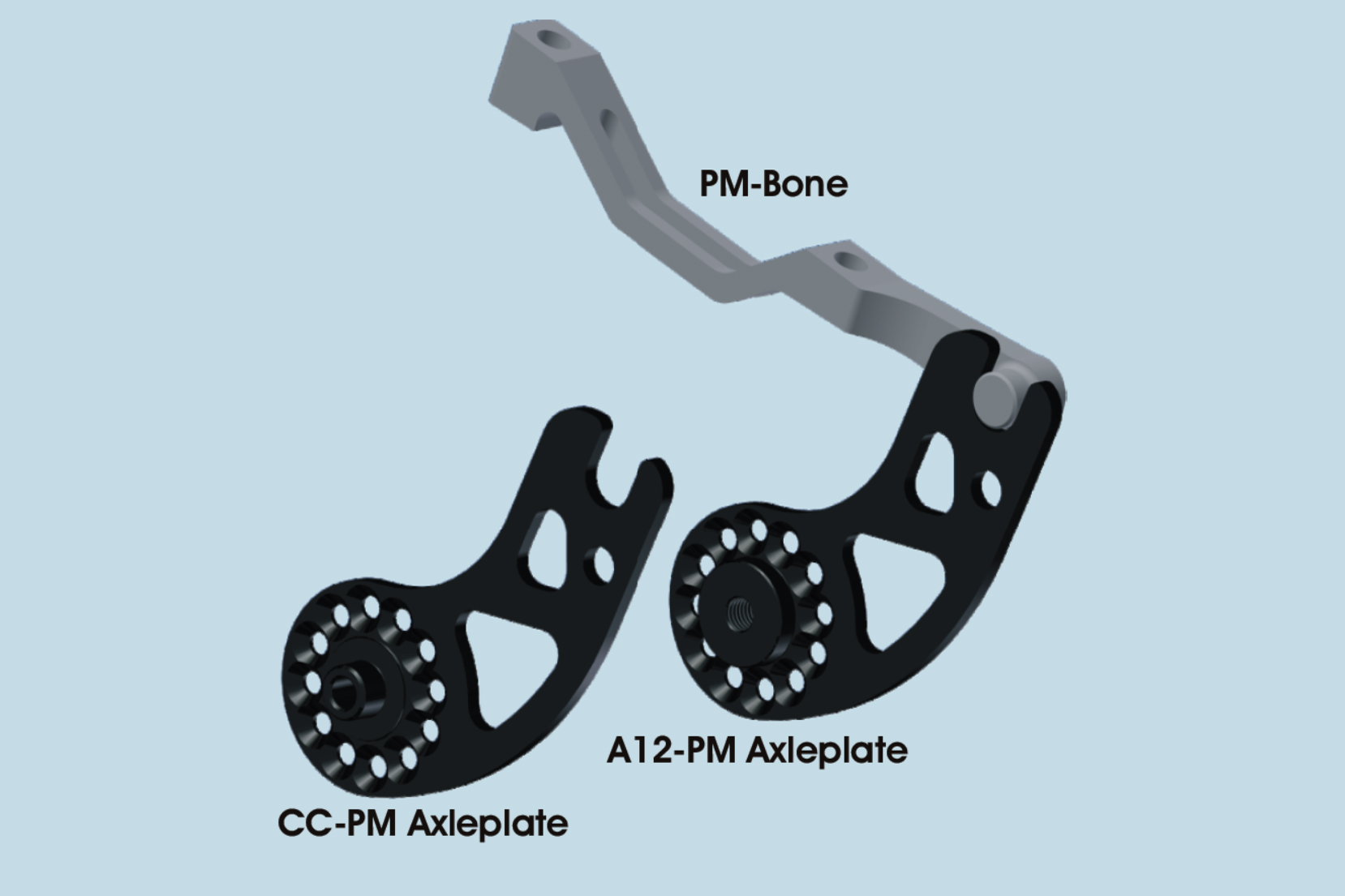 PM Bone and PM Axle Plates