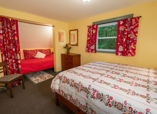 Upstairs Queen Room with Bunkie Bed