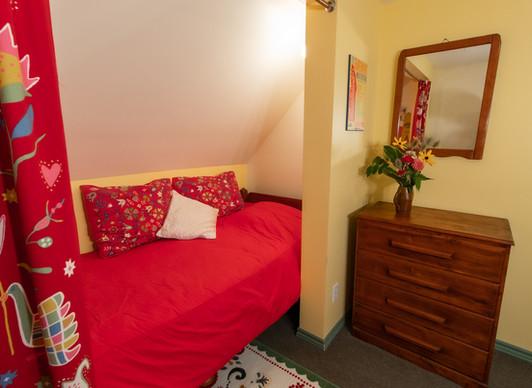 Upstairs Bunkie Bed in Queen Room