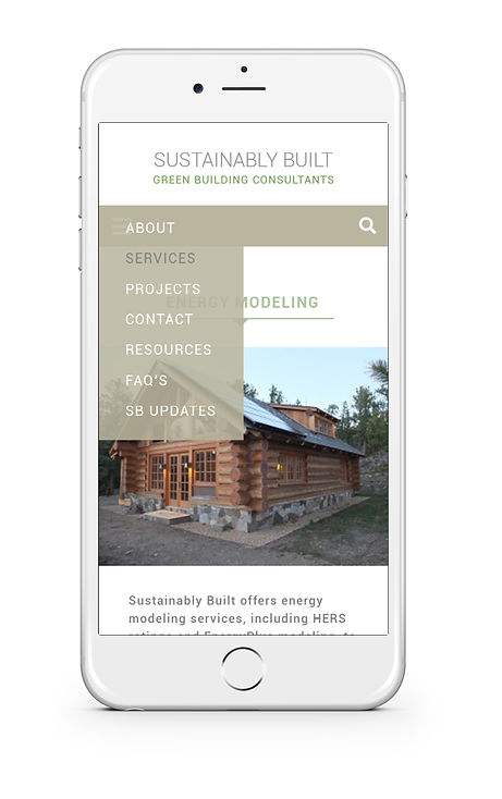 Sustainably Built Mobil Mockup