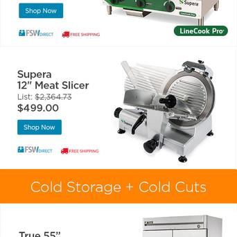 FSW designed sliced email