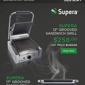 Panini Makers sliced email
