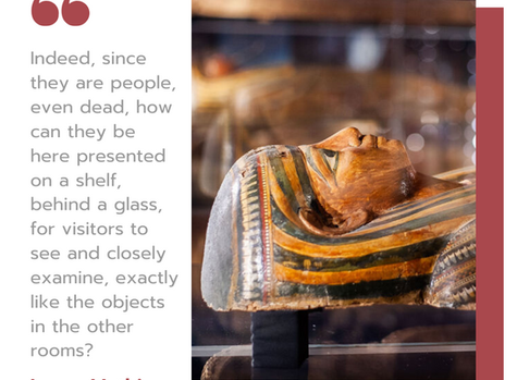 Thinking of the mummies as people