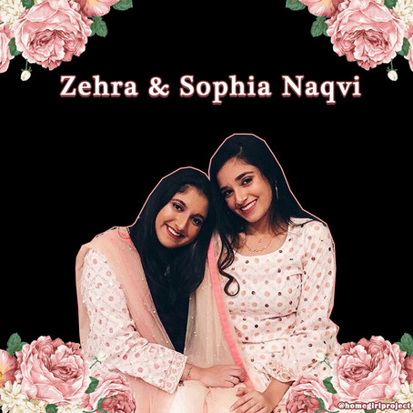 Zehra and Sophia Naqvi on Combining Fashion and Social Justice