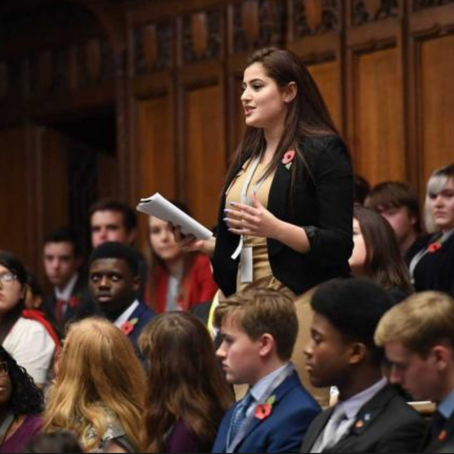 Interview: U.K.'s Youth Parliamentarian In Her Own Words