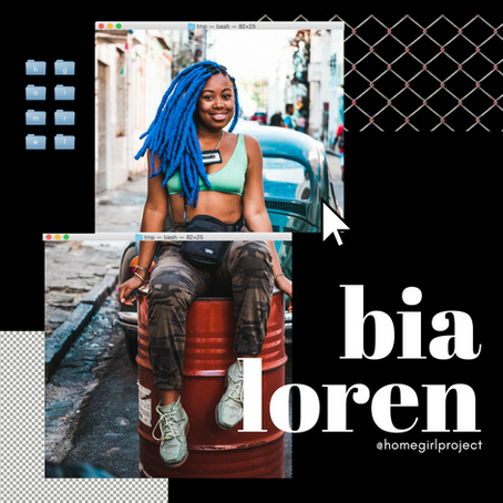 Bia Loren on Uplifting the Favela Through Fashion