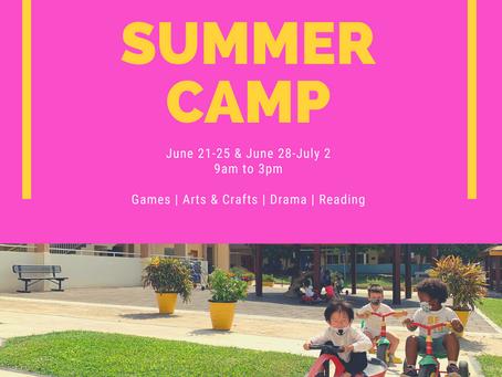 Elementary News: Summer Camp