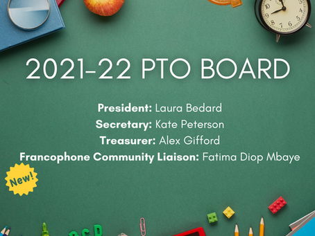 PTO News: Introducing Our New Board