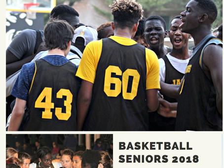 ISD Basketball Senior Night 2018