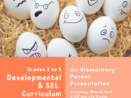 Elementary News: Counselor Presentation