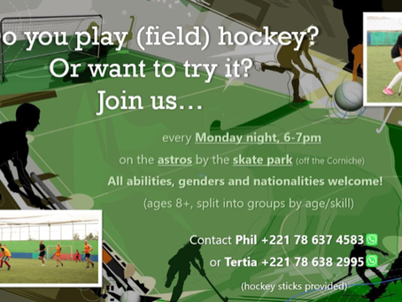 Community News: Field Hockey Club