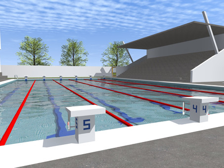 Director's Dispatch: Pool Construction Begins