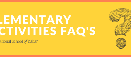 Elementary After School Activities FAQ's