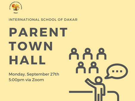 Director's Dispatch: Parent Town Hall