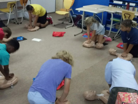 Nurse's Notes: Students Get CPR Certified