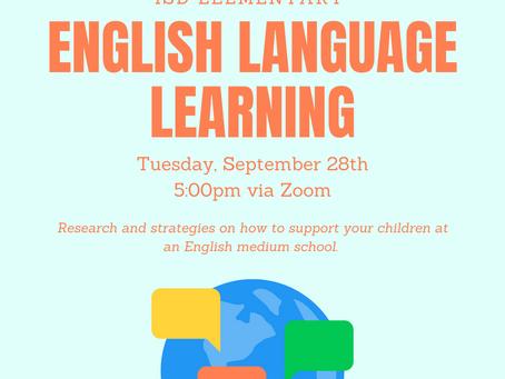 Elementary News: English Language Learners Presentation
