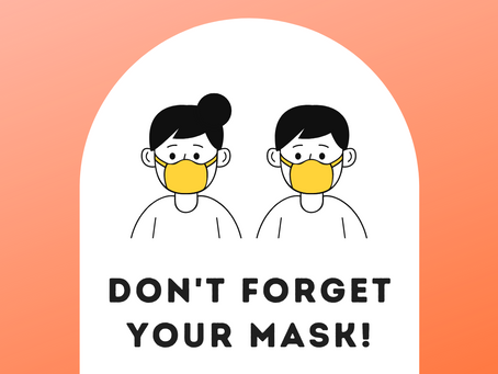 Nurse's Notes: Don't Forget Your Mask