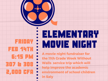 Elementary News: Movie Night