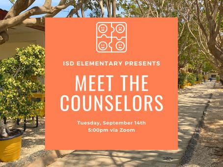 Elementary News: Meet the ES Counselors