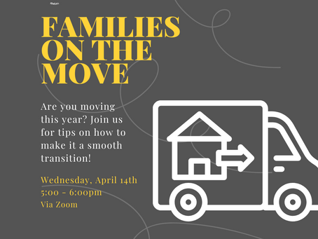 Elementary News: Families on the Move