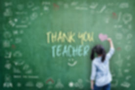 Thank You Teacher greeting card for Worl